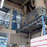 Europäische Maschinen in der Mühle sind teurer, aber weniger störungsanfällig als südamerikanische Anlagen