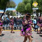 Paraden finden fast täglich statt in Cusco