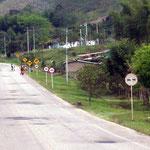 In Kolumbien ist der Schilderwald gross