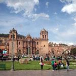 Kathedrale der turistischen Stadt Cusco