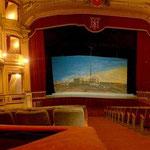 Teatro Municipal in Iquique hatte den Glanz eines Opernhauses.