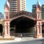 Der ehemalige Bahnhof in Asunción ist seit 2004 ein Museum