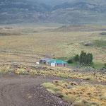 Argentinischer Grenzposten am Paso Roballos