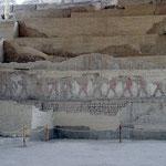 Ausgrabung El Bujo der Moche Kultur. Ab 200 v. Christus konnten sie sich ca. 1000 Jahre behaupten