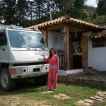 Netter Empfang im Hostal Renacer in Villa Layva