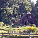 Die Mühle im Freilichtmuseum über deutsche Einwanderung zwischen 1846 und 1875 in Frutillar