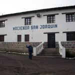 2013 eröffnet Wladimir seine Hacienda für Gäste in Latacunga, südlich Quito. Wir sind schon im Nov. 2012 herzlich willkommen