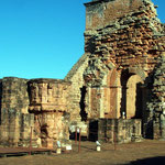 Von der Kirche Trinidads ist unter anderem die Kanzel gut erhalten geblieben