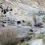 Estanzia auf 3000m.ü.M an der 35 km langen 4x4 Stasse zu der 9. und obersten Sektion der Seilbahn.