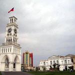 Das Wahrzeichen von Iquique, der Torre Reloj (Uhrturm).