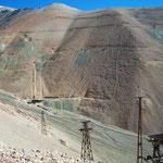 Die Mine Mejicana wurde 1926 stillgelegt.