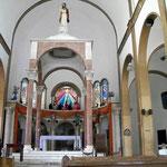 Die Kirche von Montecristi ist innenen schlicht