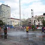 In Quito war uns der Spass bei 23 Grad zu kalt