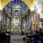 In Quito haben die Spanier in den Kirchen nicht mit Gold gespart