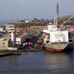 Hafen von Dakar, Senegal