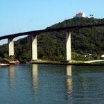 Hafeneinfahrt von Vitoria, Brasilen