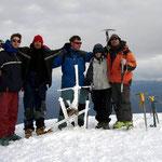6090m auf dem Chachani, mit Führer Ivan rechts