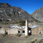 Ruinas de Gualian, Geisterstadt einer Mine.