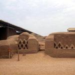 Chan Chan eine Lehmziegelstadt der Chimu aus der Zeit zwischen 1000 und 1500 nach Christus