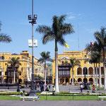 Plaza de Armas, in der Altstadt von Lima