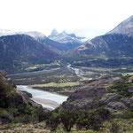 Chilenische Landschaft an der Carretera Austral