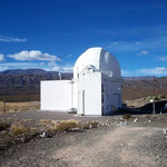 Planetarium im Nationalpark El Leoncito.