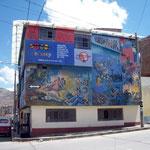 Das sehr eindrückliche Museum gegen das Vergessen der Verbrechen in Ayacucho