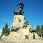 Cerro de la Gloria in Mendoza.