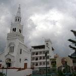 Die Kirche von Montecristi ist aussen beeindruckend