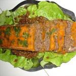 Terrine de viande et légumes à la table d'hôtes du Moulin à Grains à Ménil la Horgne en Lorraine