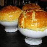 Petite marmite d'escargots à l'oseille à la table d'hôtes du Moulin à Grains à Ménil la Horgne