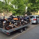 Motorradanhänger für 5 Motorräder
