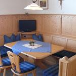 Ferienwohnung Alpenrose Sitzecke