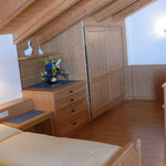Ferienwohnung Alpenrose Schlafzimmer