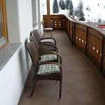 Silberdistel Balkon