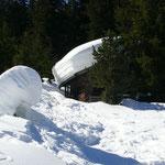 """""""Jagerhütte"""" auf der Höhenloipe"""