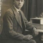 Johann Lanthaler in jungen Jahren