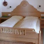 Ferienwohnung Enzian Schlafzimmer