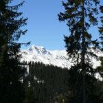 Panoramablick Höhenloipe