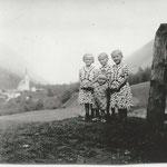 Maria, Klara und Anna Lanthaler