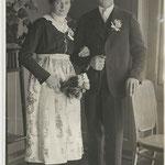 Hochzeitsfoto Johann und Josefa Lanthaler