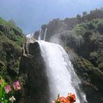 dreistufiger Wasserfall