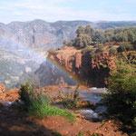 Cascade Ouzoud Regenbogen
