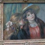 ルノアールの絵画、上品で優雅、オランジェリーは印象派の絵がたくさんありオススメ