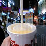 マンゴージュース、香港はマンゴー天国w安くてウマイ