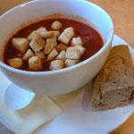 このトマトスープは濃厚で美味かった☆