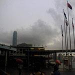 これも香港の港、便数多くて時間も遅くまであり便利