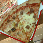 これは薄焼きピザ、美味しい