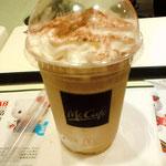 香港のマックカフェのフラペチーノ、スタバ並みのボリュームで味も良かった、これならば飲みたい
