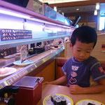 カッパ寿司でお昼ご飯